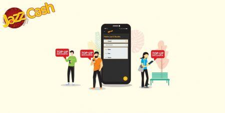Gửi tiền vào Binomo qua Chuyển khoản ngân hàng Pakistan (SMS Easypaisa, SMS Cash Jazz)