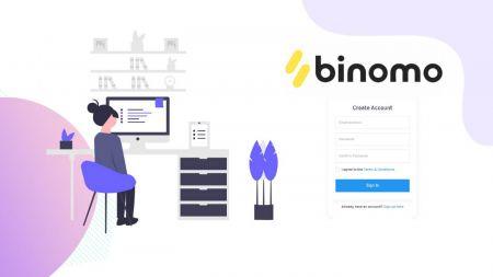 Cách mở tài khoản Demo trên Binomo