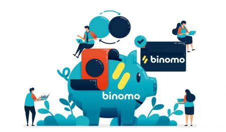 Cách gửi tiền vào Binomo
