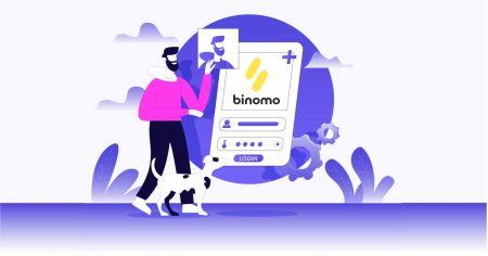 Cách mở tài khoản giao dịch trong Binomo