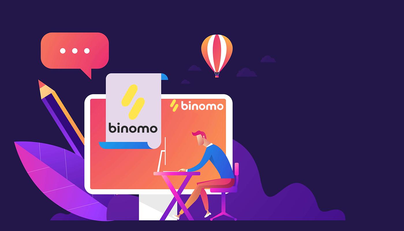 Cách đăng ký và đăng nhập tài khoản trong giao dịch Binomo