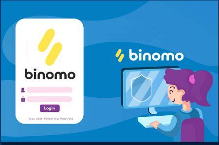 Cách mở tài khoản và đăng nhập vào Binomo