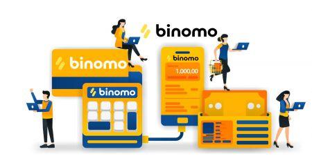Cách Rút tiền và Gửi tiền vào Binomo