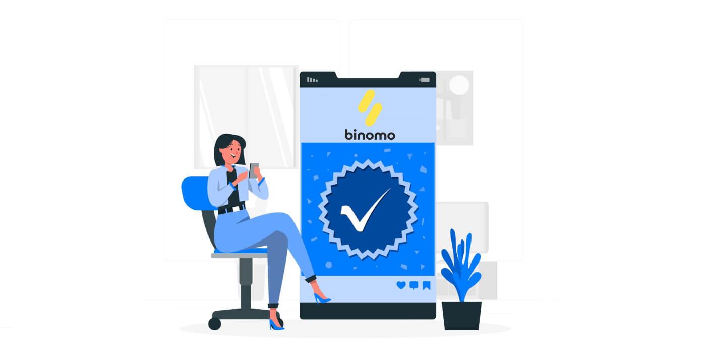 Cách xác minh tài khoản trong Binomo