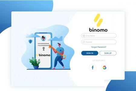 Cách đăng ký tài khoản trong Binomo