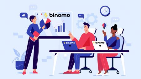 Cách đăng nhập và bắt đầu giao dịch tại Binomo
