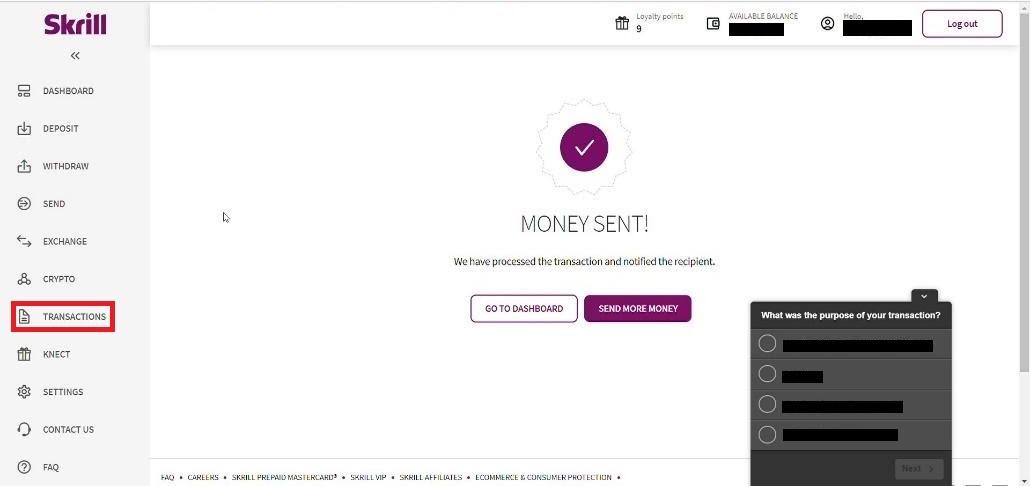 Cách gửi tiền và giao dịch tại Binomo