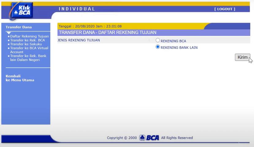 Gửi tiền vào Binomo qua Chuyển khoản ngân hàng Indonesia (Tài khoản ảo, Tài khoản ảo Ngân hàng Mandiri, Ngân hàng trực tuyến)