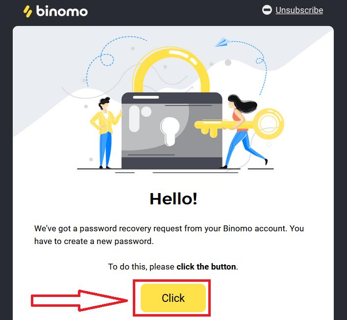 Cách đăng nhập và xác minh tài khoản trong Binomo