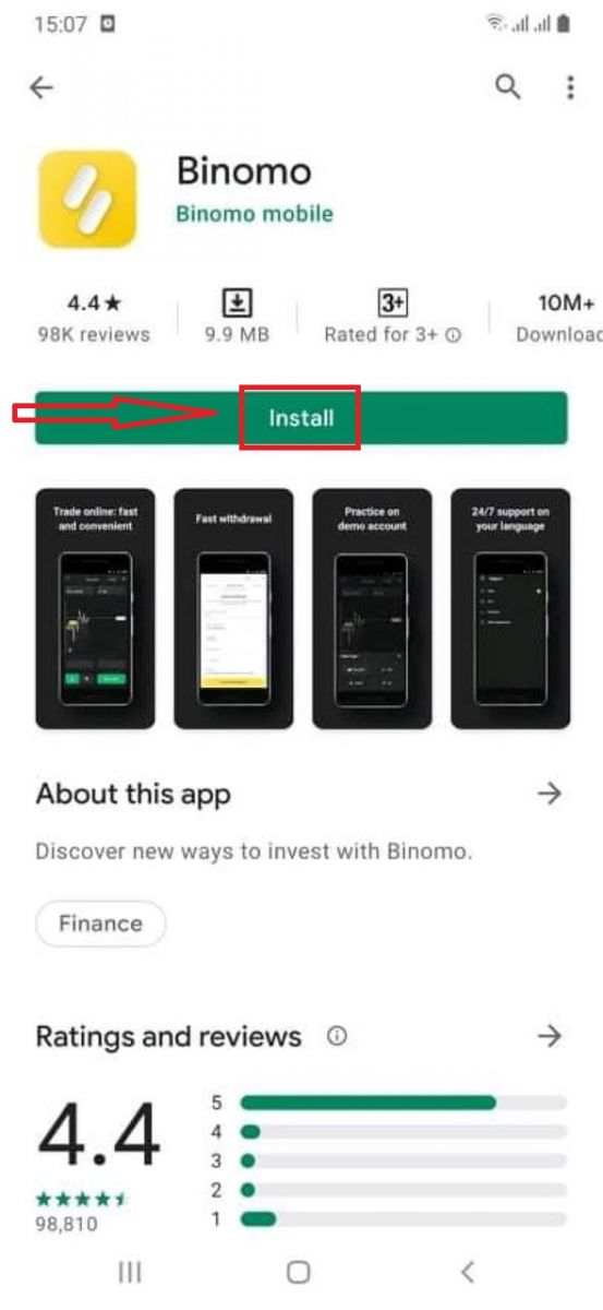 Cách đăng ký và đăng nhập tài khoản trong Binomo