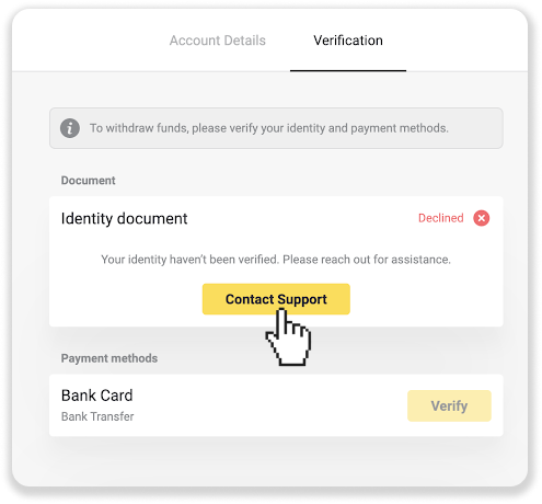 Cách đăng ký và xác minh tài khoản trong Binomo